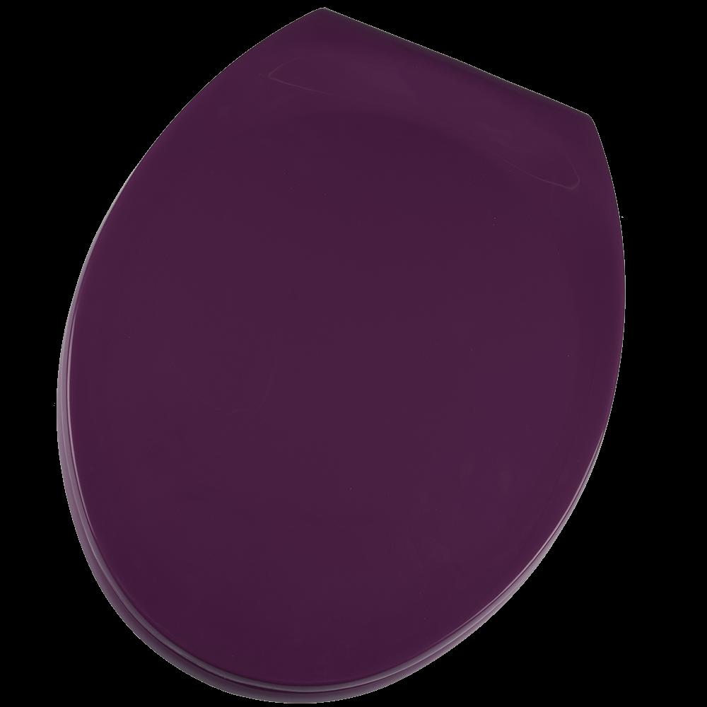 Capac WC Club 40, polipropilena, violet, 46x22,5x37,5 cm