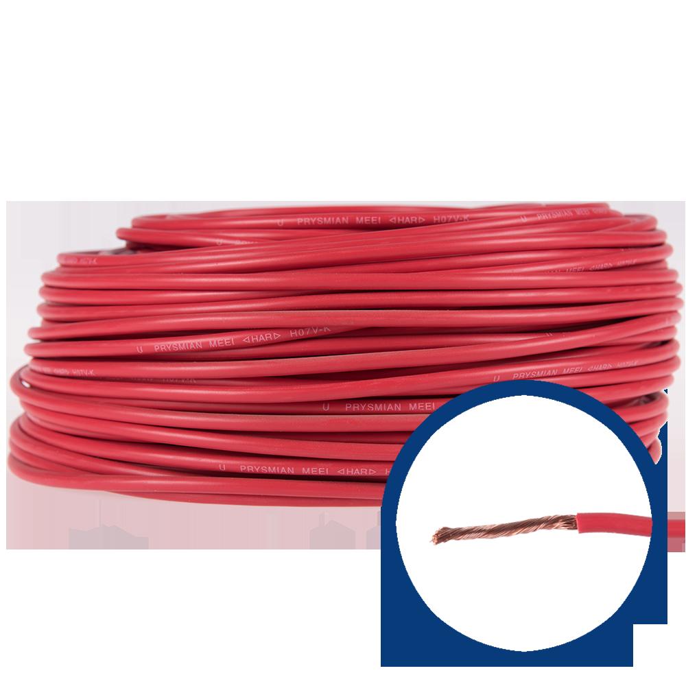 Cablu electric MYF (H05V-K) 6 mmp, izolatie PVC, rosu imagine 2021 mathaus