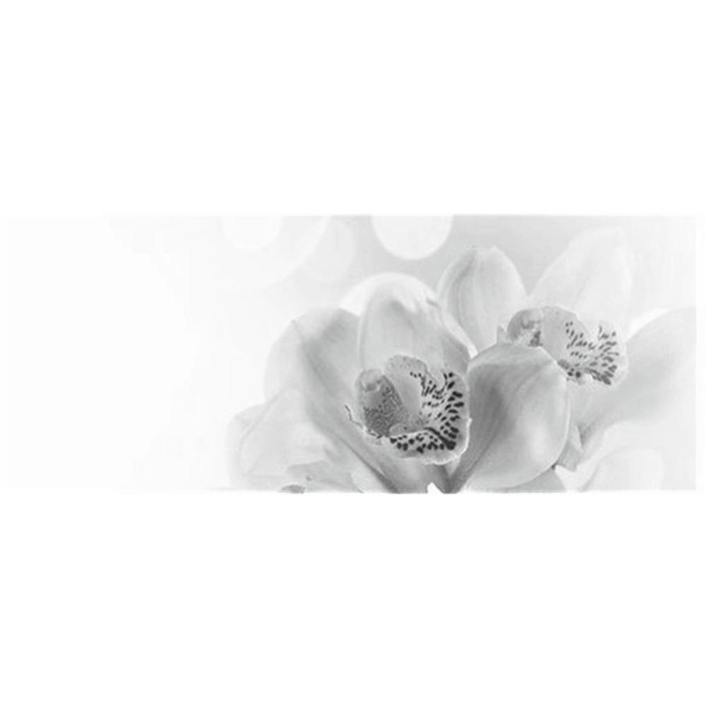 Faianta decorativa Keramin Elegy, lucioasa, stil elegant, alb/negru, 20 x 50 cm