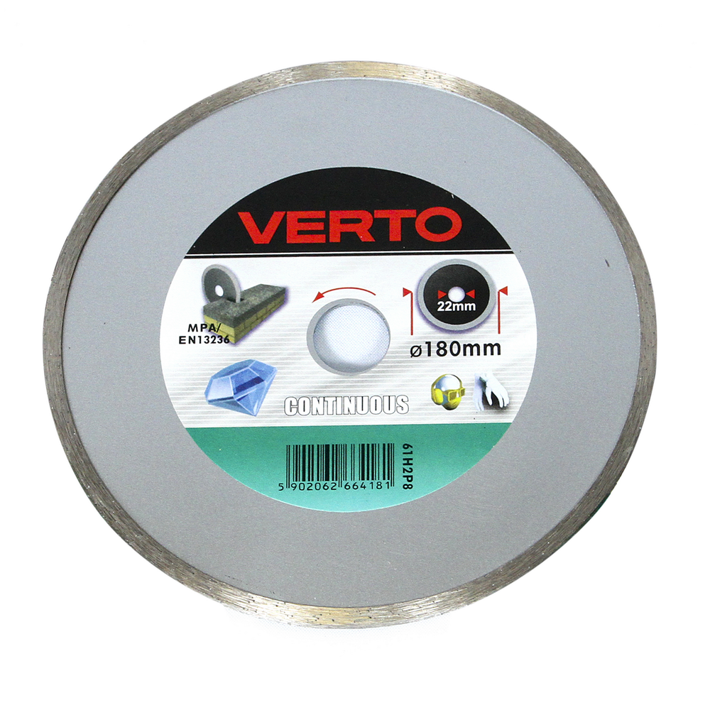 Disc Diamantat Continuu Verto 61H2P8 180 mm mathaus 2021