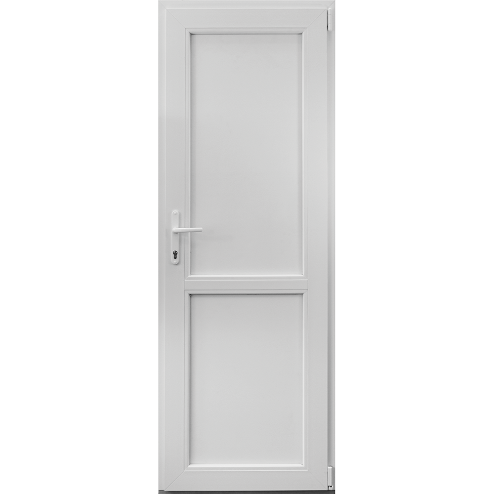 Usa PVC tehnica, alba, 66 x 204 cm, dreapta imagine 2021 mathaus