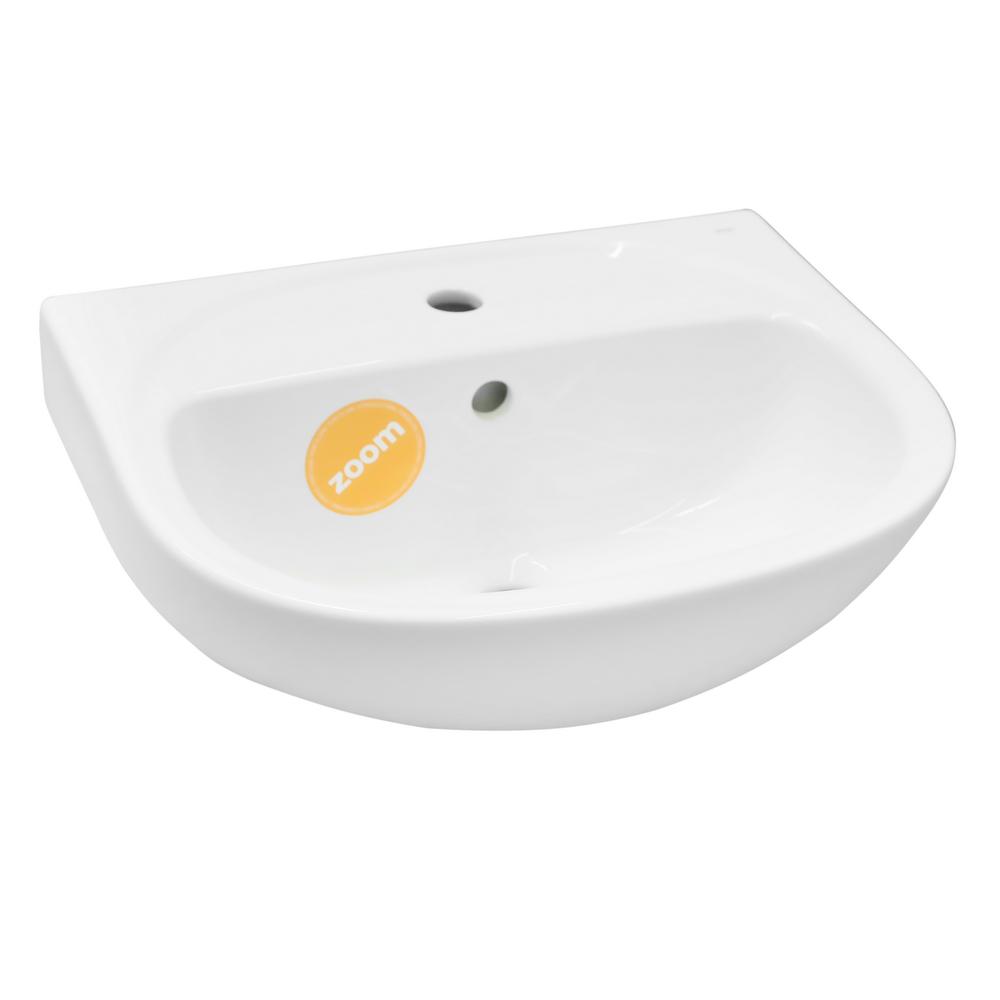Lavoar Zoom Uno, 50 cm, alb, ceramica mathaus 2021