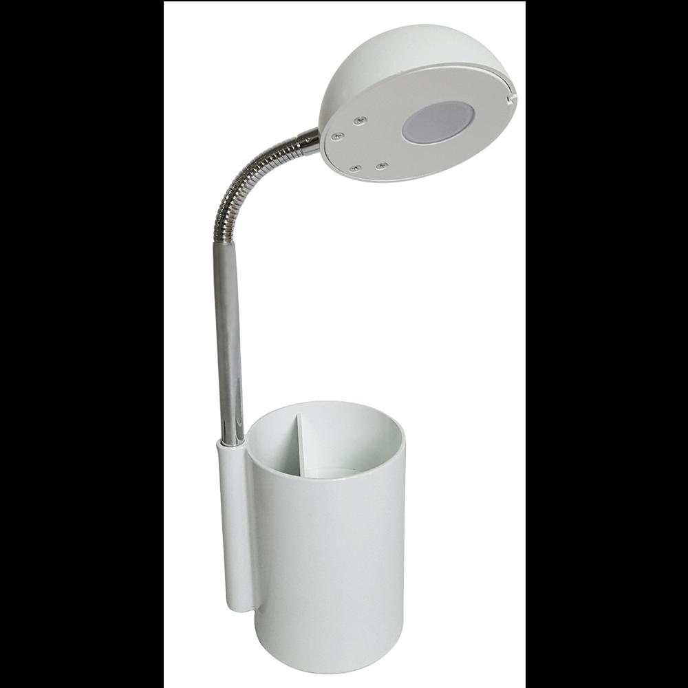 Lampa de birou Krist alba, 1x3 W, LED imagine 2021 mathaus