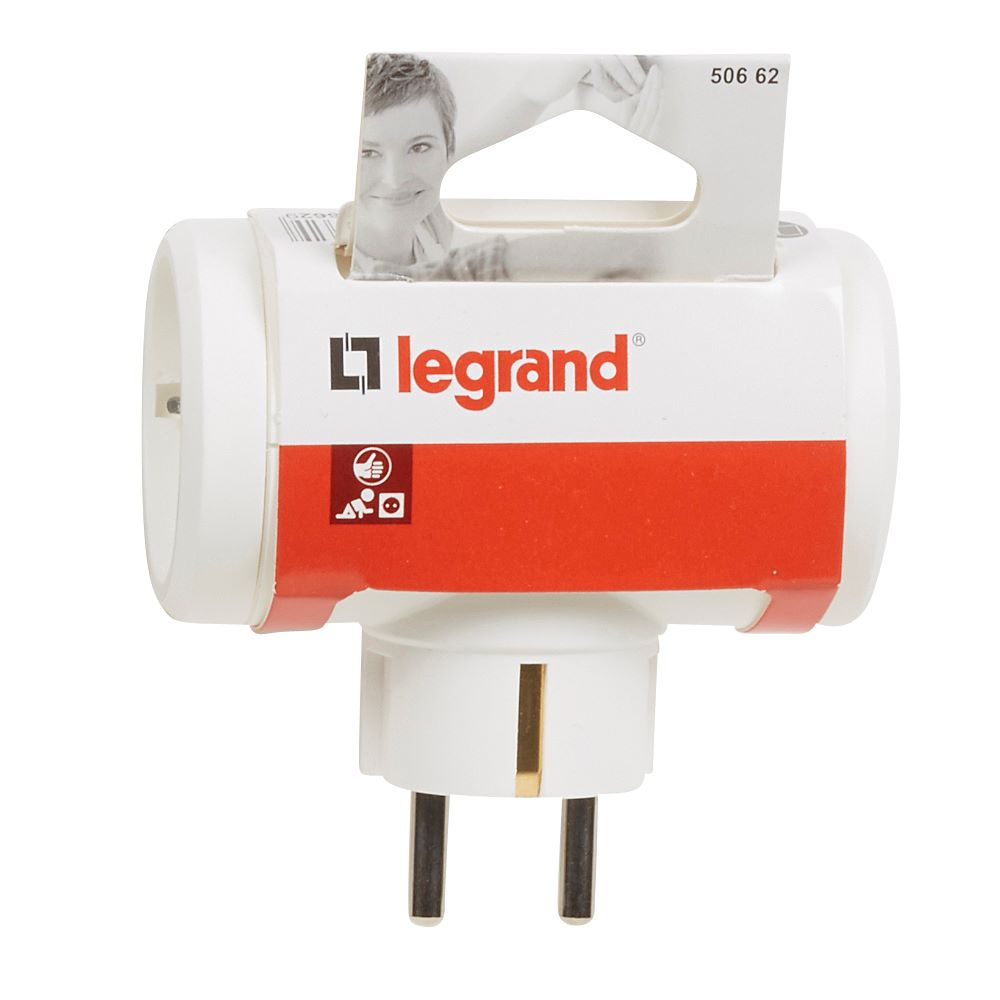 LEGRAND ADAPTOR 3 IESIRI ALB imagine 2021 mathaus