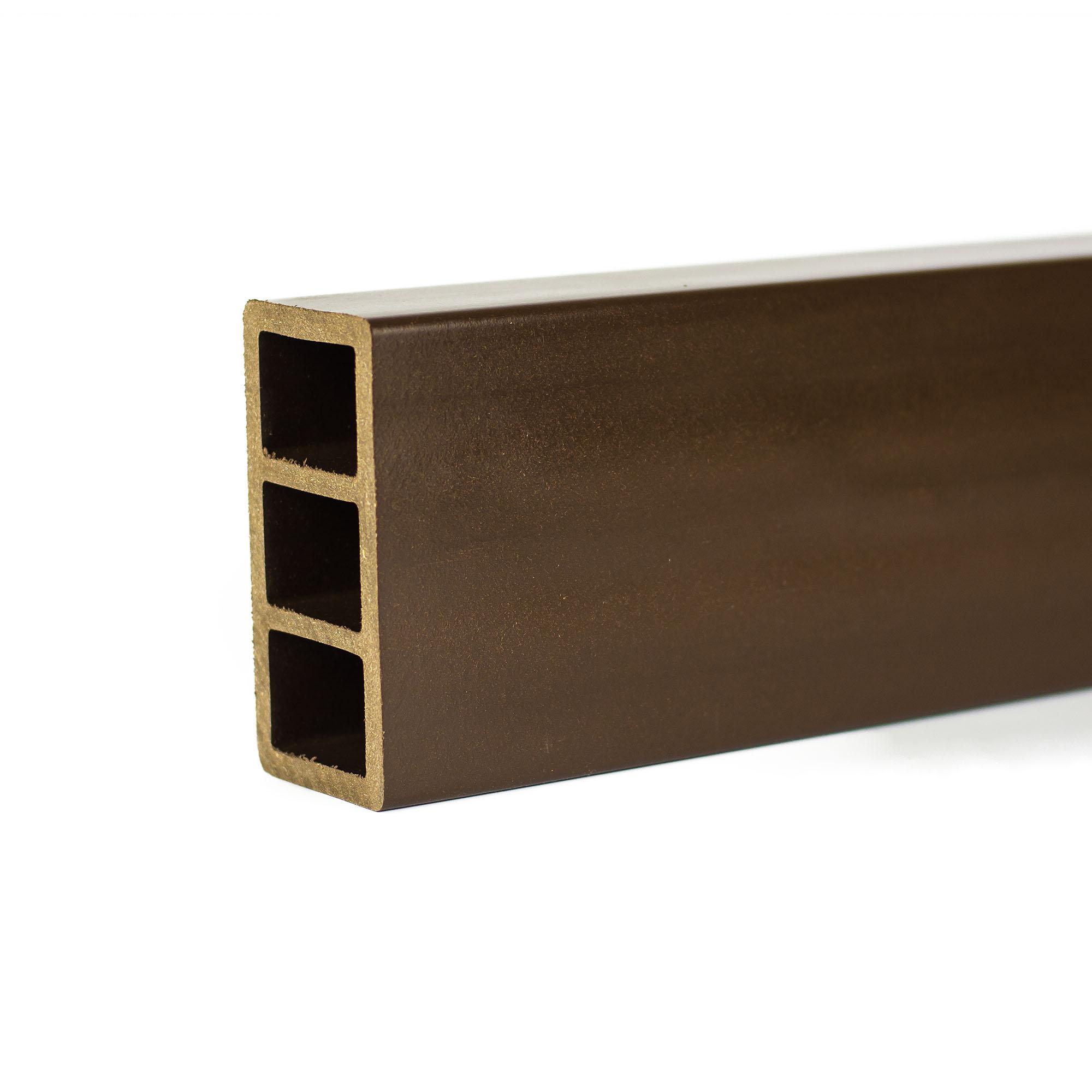 Grinda WPC Bencomp, wenge, 100 x 50 x 2000 mm
