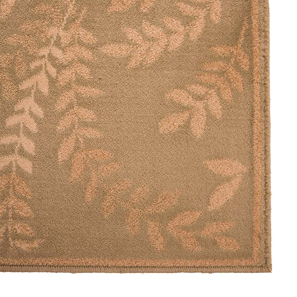 Covor dreptunghiular Fresco 5036-511 verde frunze 60 x 100 cm mathaus 2021