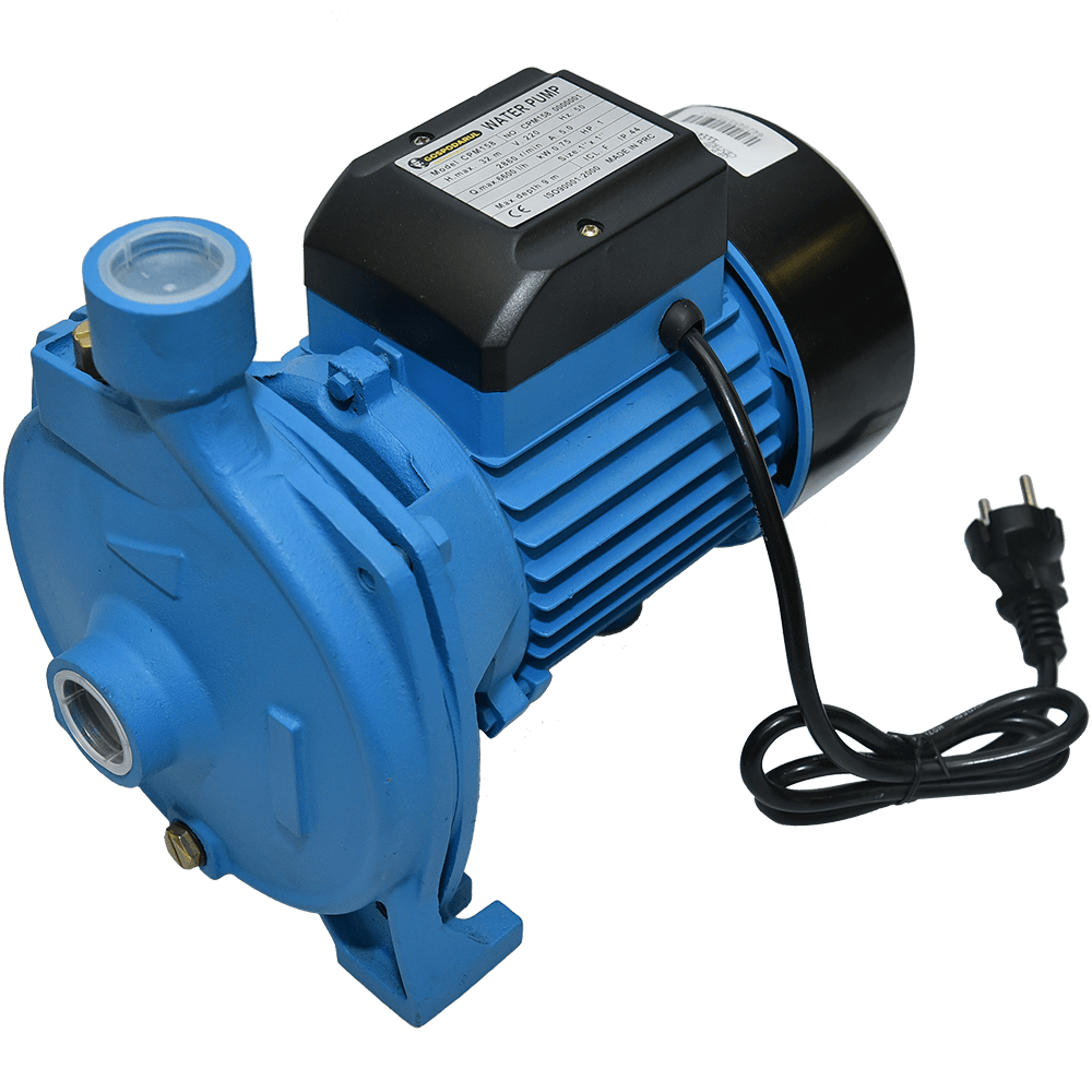 Pompa de apa curata Gospodarul Profesionist CPM-158, motor 2 poli, 750 W, 6600 l/h debit imagine MatHaus.ro