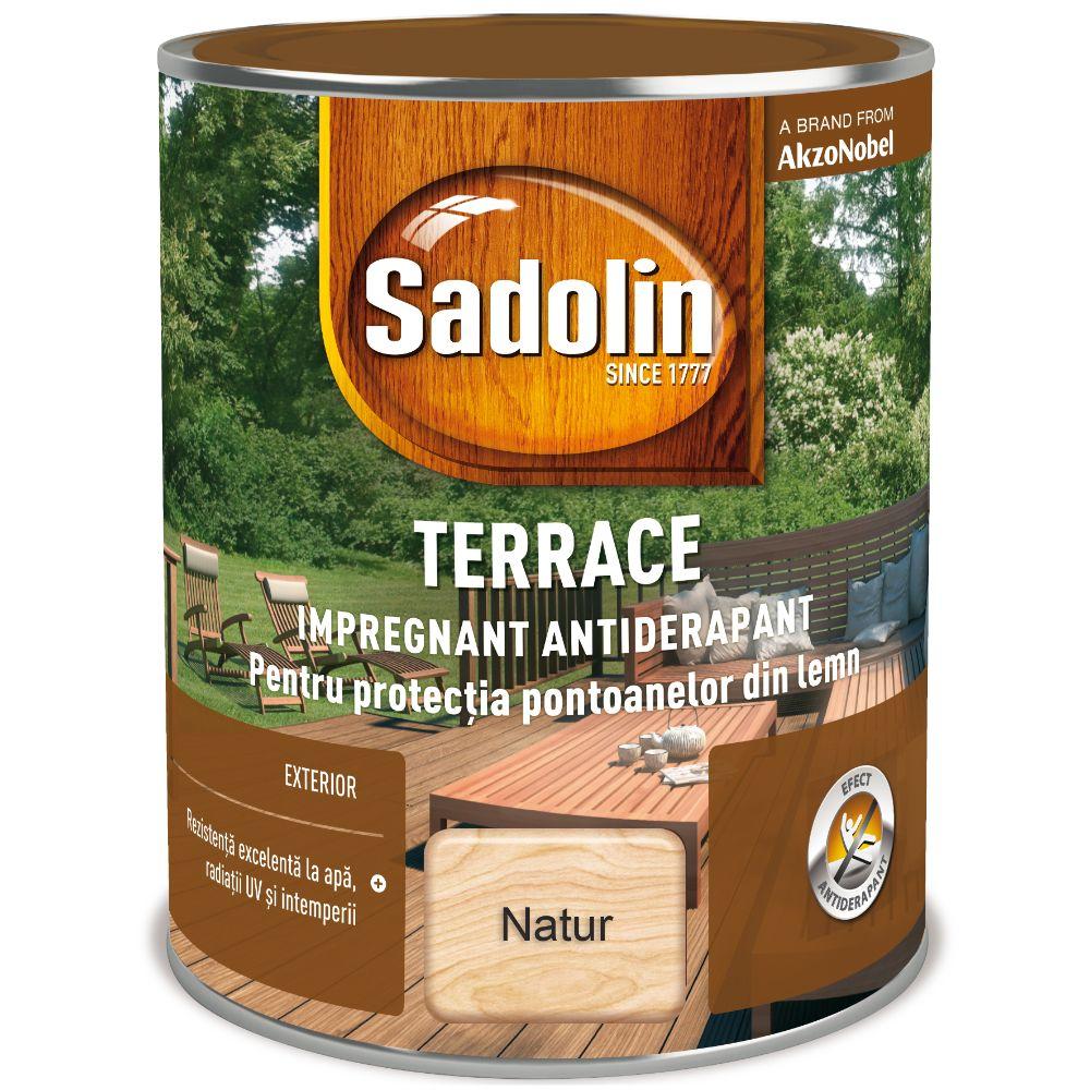 Impregnant pentru lemn, Sadolin Terrace, exterior,  natur, 2,5 l mathaus 2021