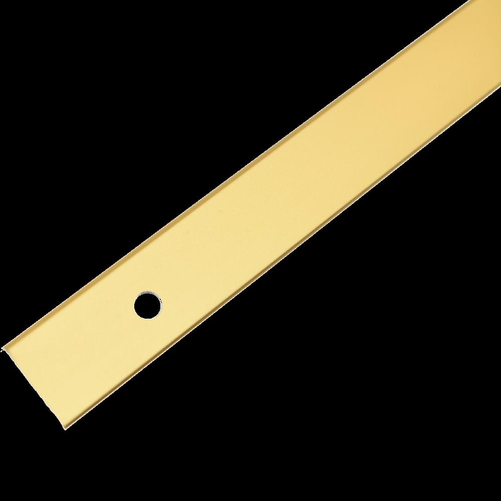 Profil pentru treapta cu surub Arbiton PS1 cu latime 25 mm, auriu, 1,20 m imagine 2021 mathaus