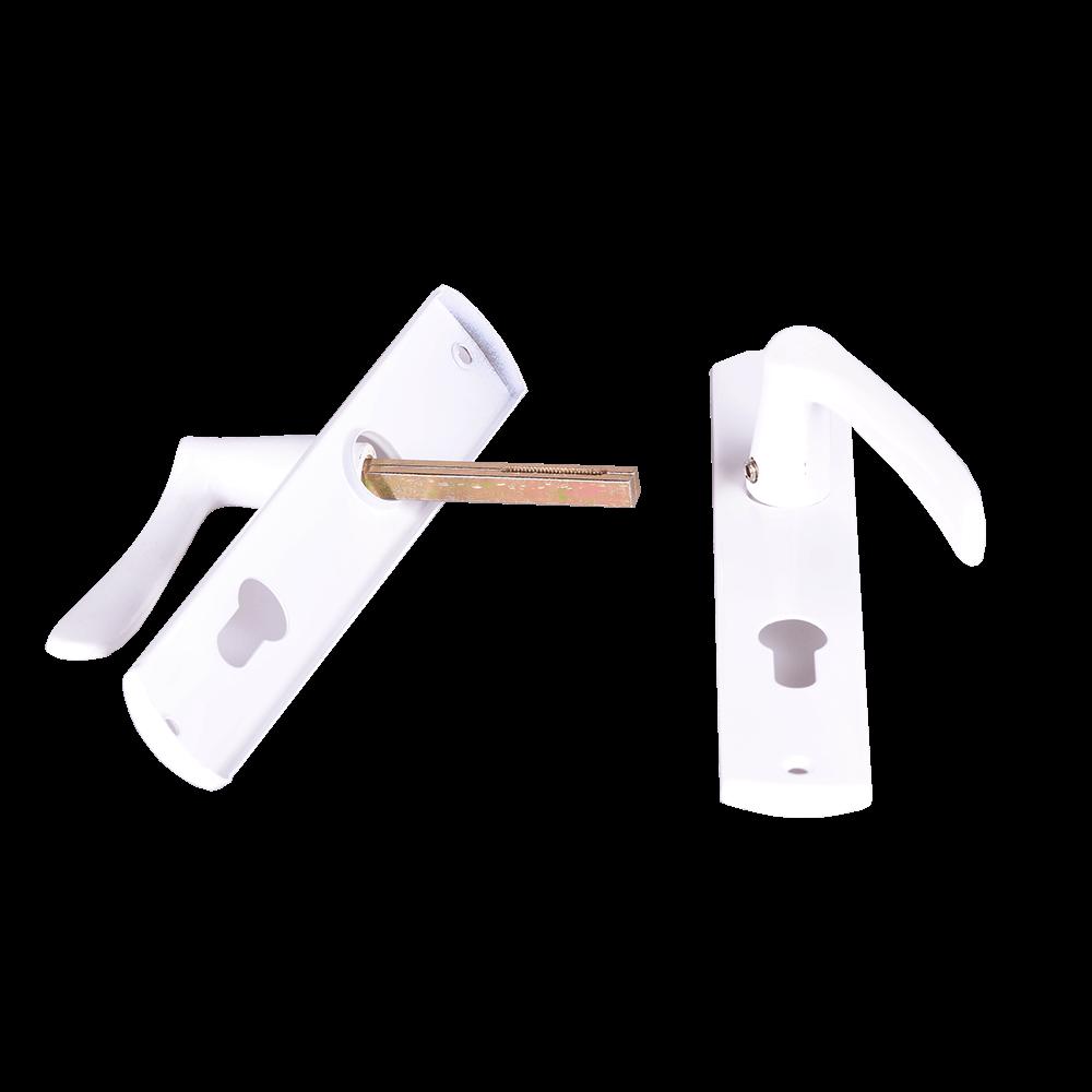 Maner cu silduri, pentru cilindru, alb, 72 mm
