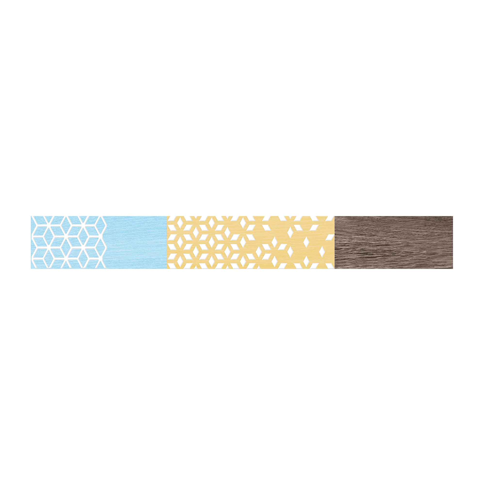 Brau faianta multicolor, Cesarom Nordic Wood, lucios, 5 x 40,2 cm