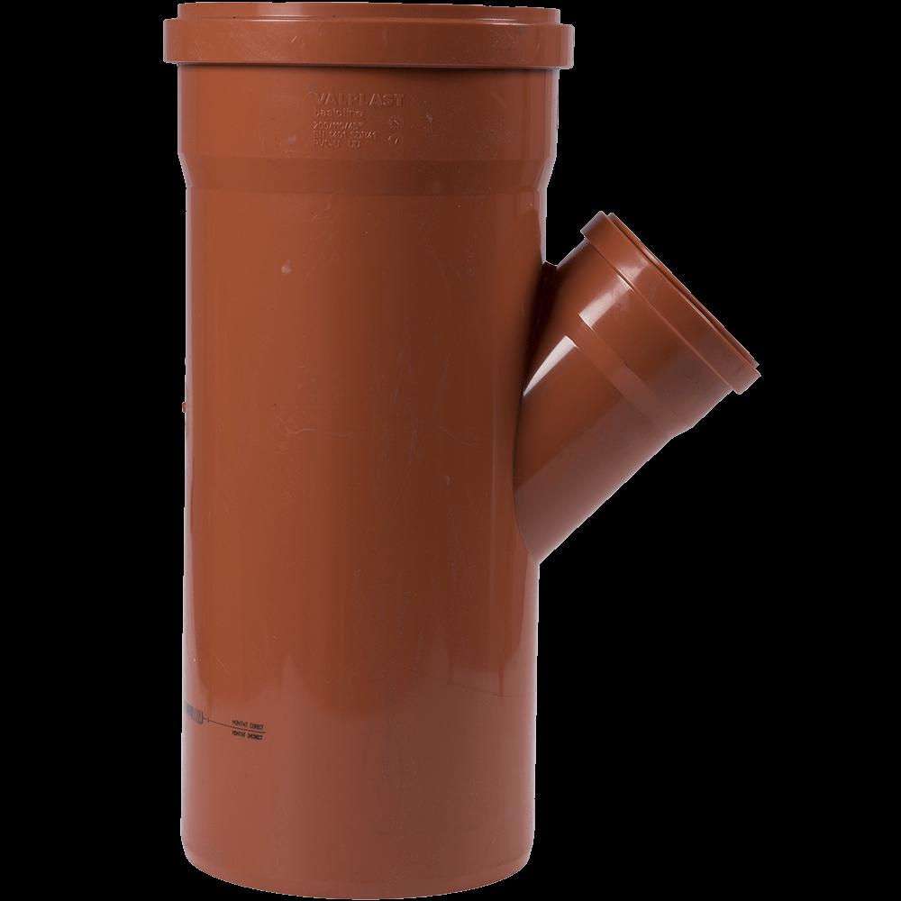 Ramificatie PVC pentru canalizare exterioara, DN1 200 mm, DN2 110 mm