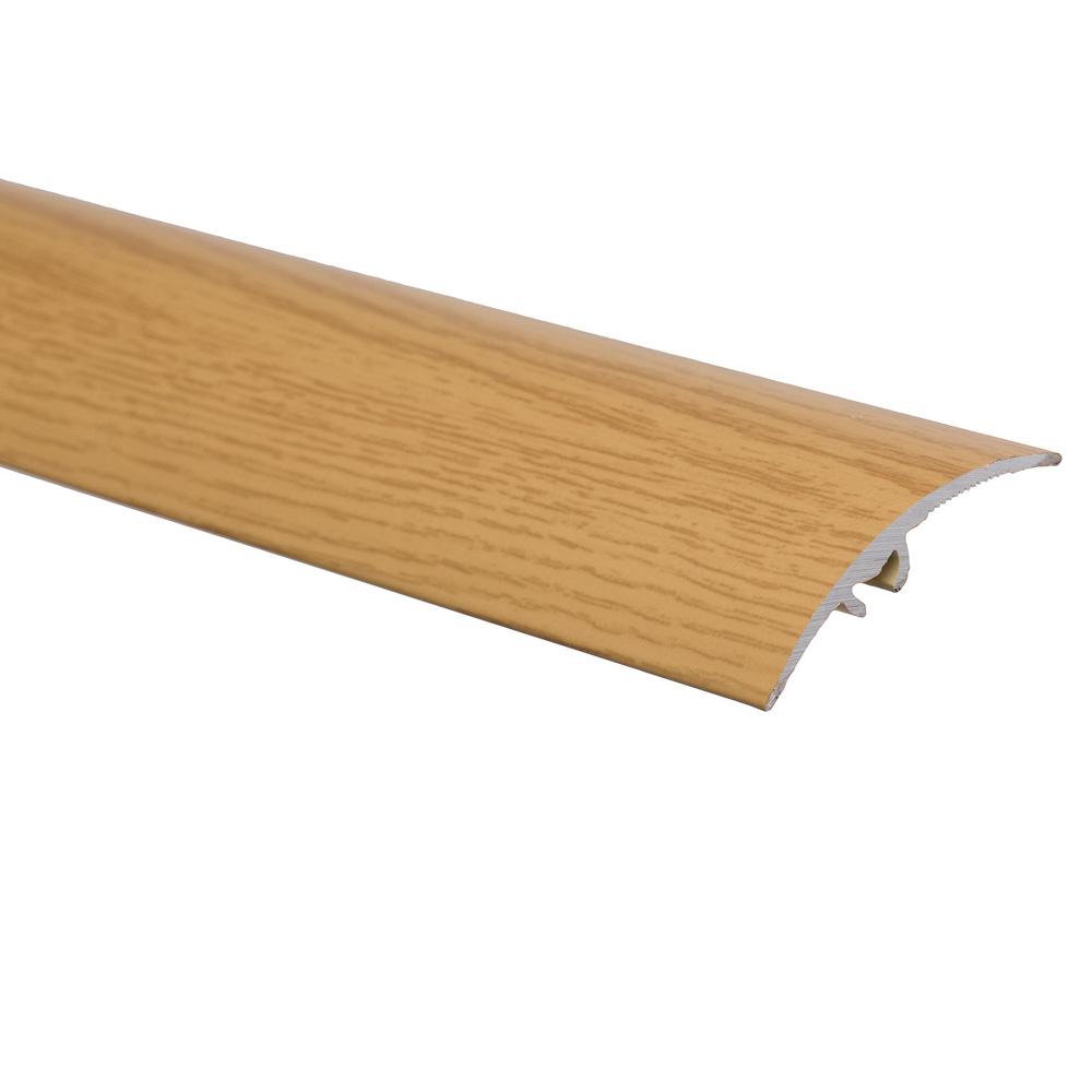 Profil de trecere cu surub mascat cu diferenta de nivel S65 Effector stejar, 0,93 m imagine 2021 mathaus