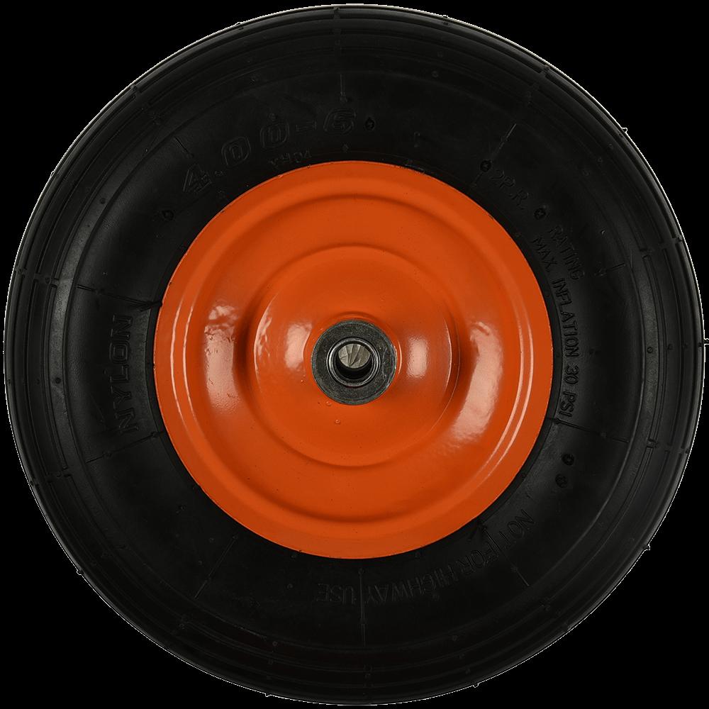 Roata pneumatica, axa L:100 mm, D: 325 mm, int D: 16 mm mathaus 2021