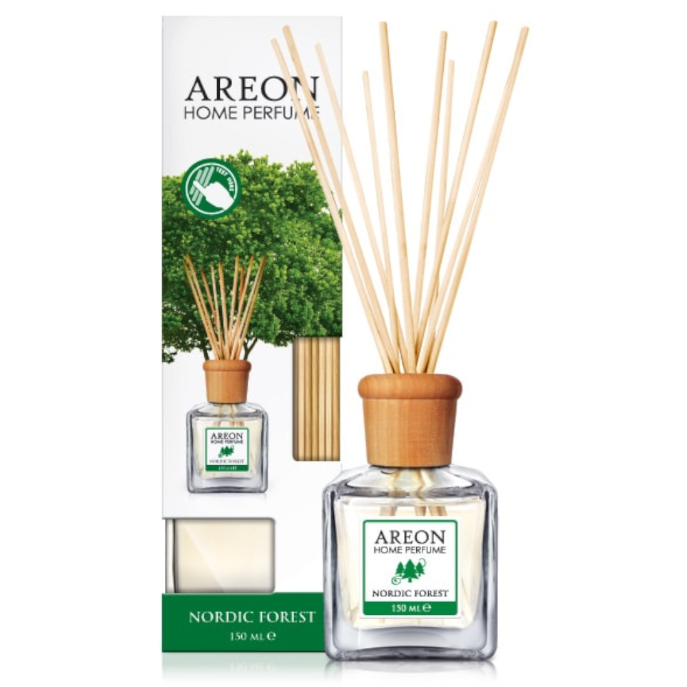 Odorizant cu betisoare Areon Home Perfume, Nordic Forest , 150 ml mathaus 2021