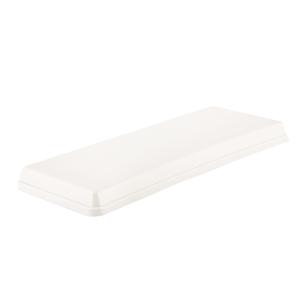 Capac pentru rezervor WC Eurociere Alfa, alb