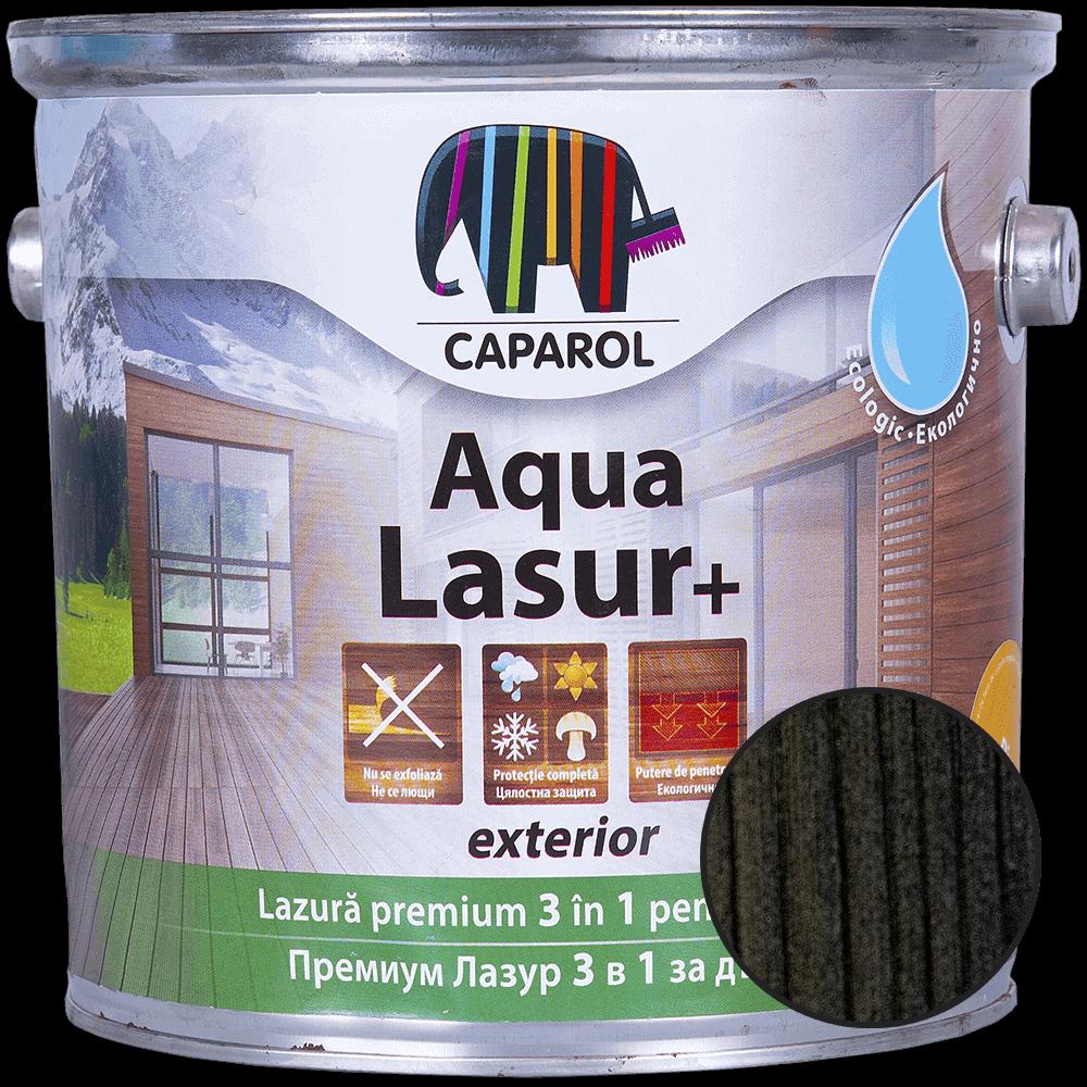 Lazura pentru lemn de exterior Caparol Aqua Lasur +, abanos, 2,5 l mathaus 2021