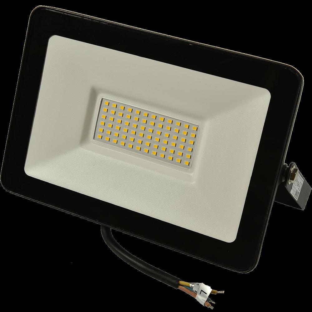 Proiector LED Super Slim 70W, 4200 lm, lumina neutra imagine 2021 mathaus