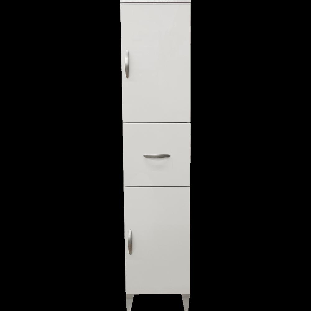 Coloana 927 Savini, PAL, alb, 2 usi / 1 sertar imagine MatHaus.ro