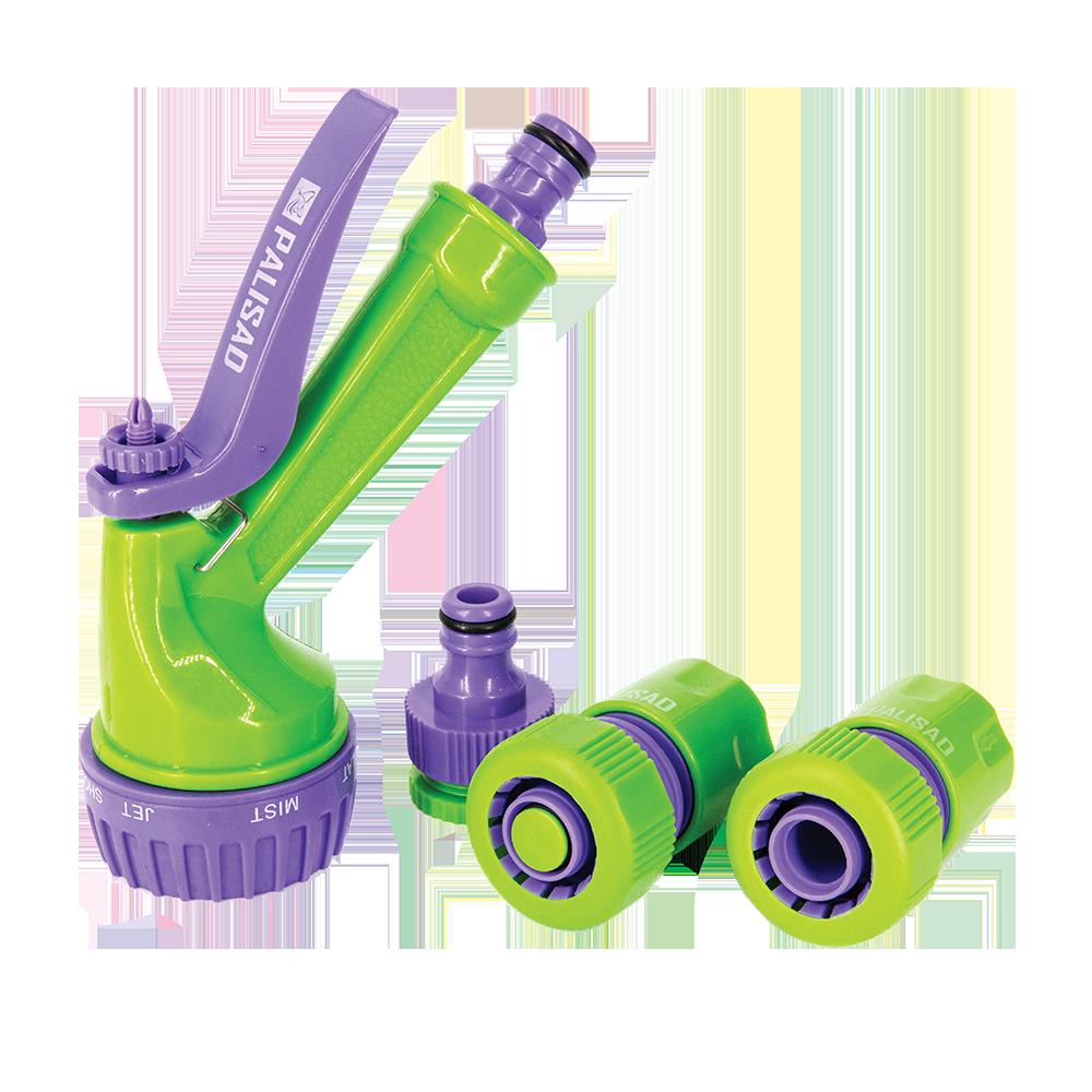 Set conectare furtun ¾, ABS plastic, Palisad
