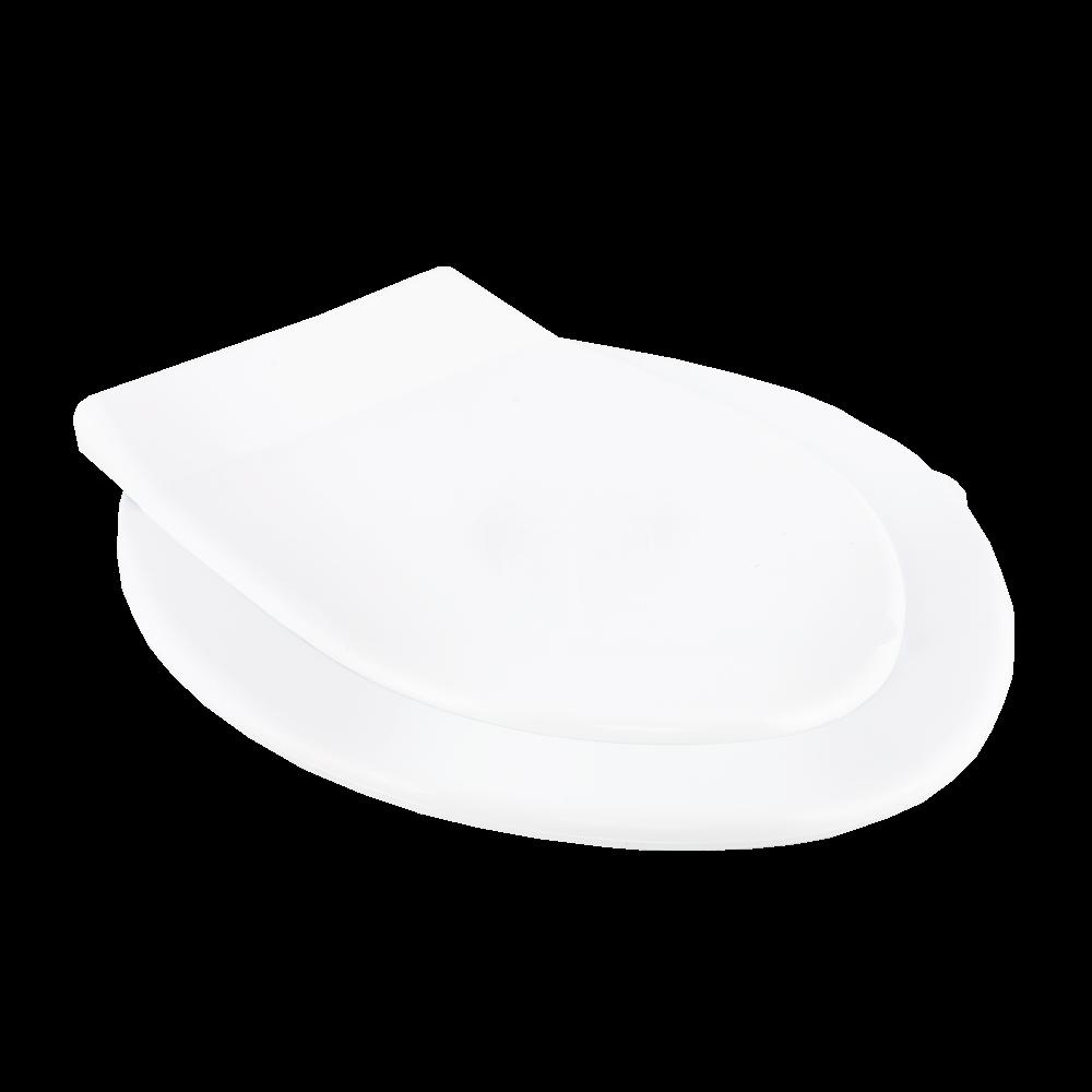 Capac pentru WC Romtatay Mono, plastic, oval, alb
