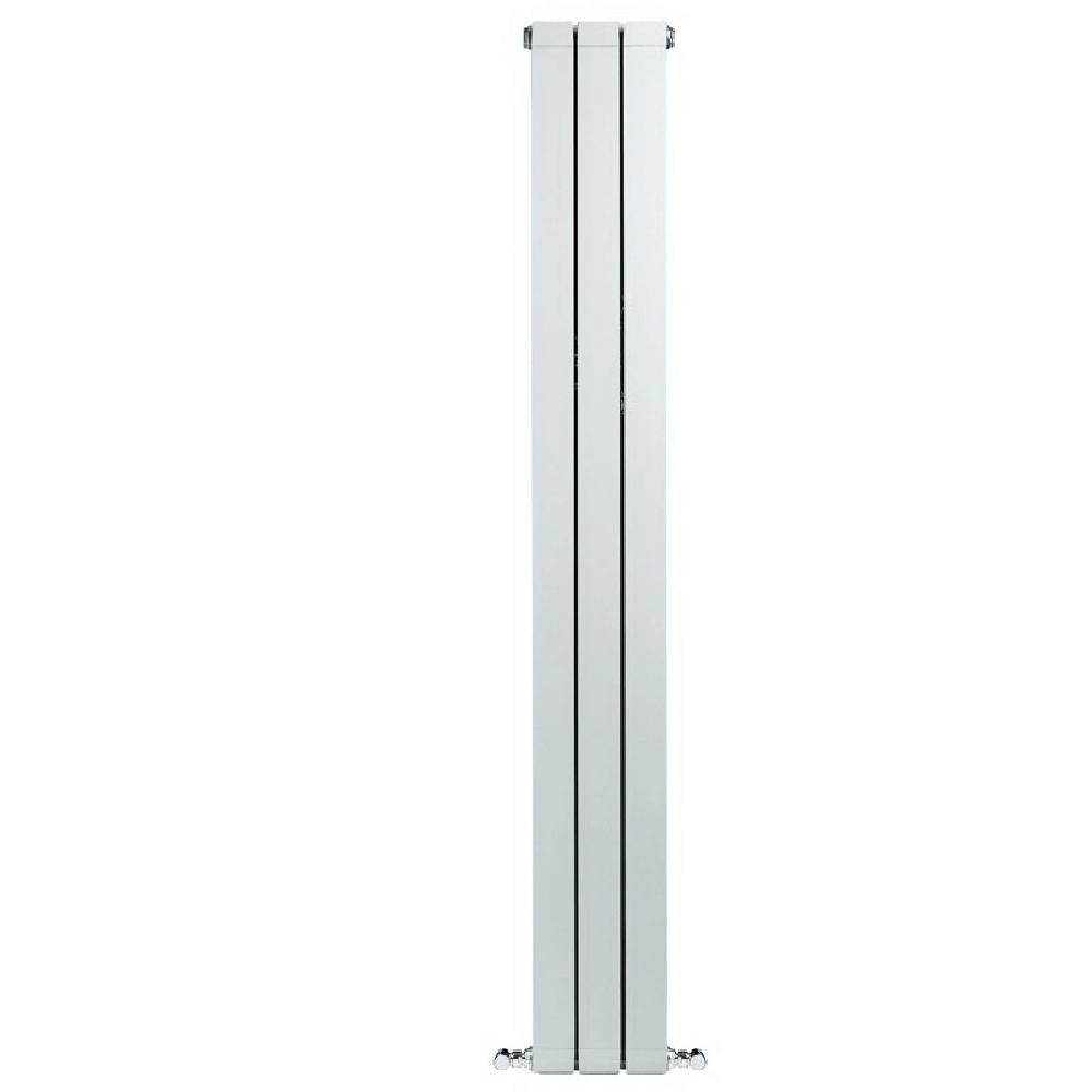 Calorifer aluminiu Faral Condor 1400, 80 x 1400 mm, 3 elementi, 672 W, alb mathaus 2021