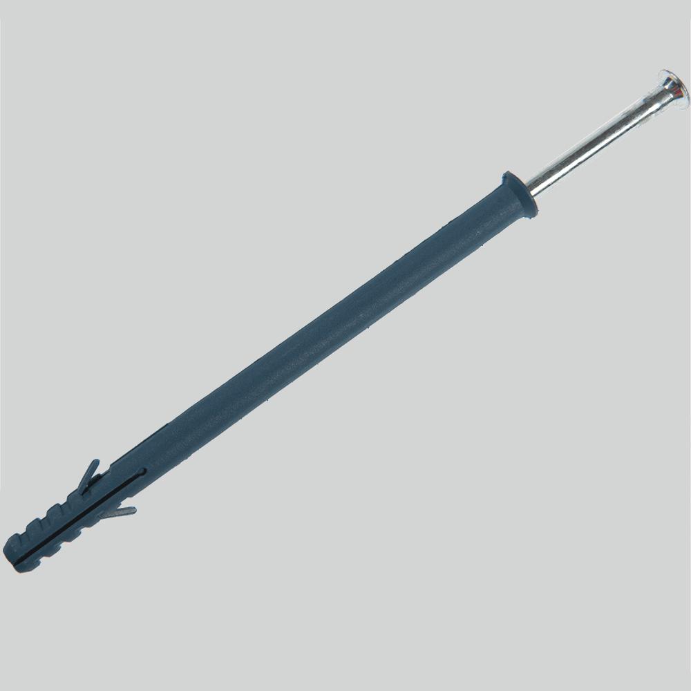 Diblu cap inecat cu surub cui tip W, nylon, 10 x 100 mm