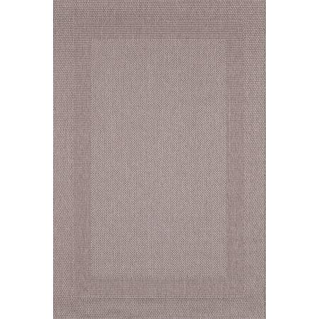Covor modern Sintelon Adria 01BEB, polipropilena, model sisal bej inchis, 160 x 230 cm