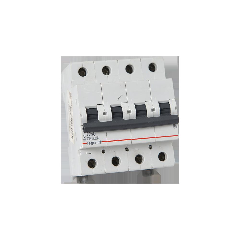 Disjunctor RX3 6000 ,Legrand 419922, 4P 50A imagine 2021 mathaus