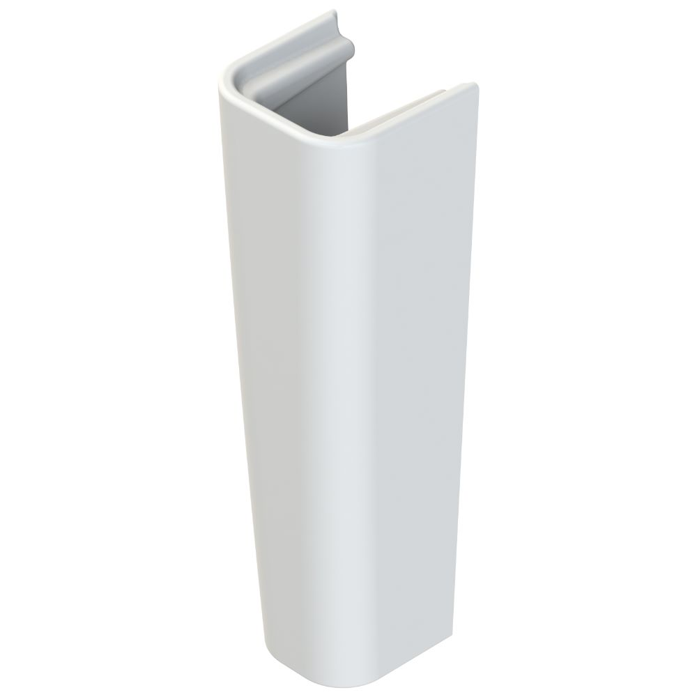 Piedestal Menuet Noura, portelan, alb, 66,5 x 19 x 15 cm imagine 2021 mathaus