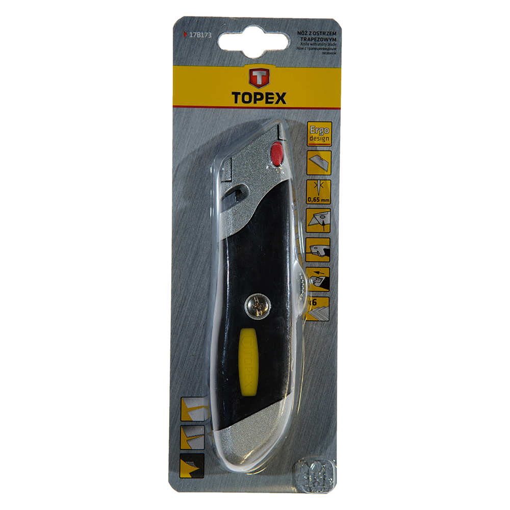 Cutter Multifunctional Cu 6 Lame Topex 17B173 18 mm