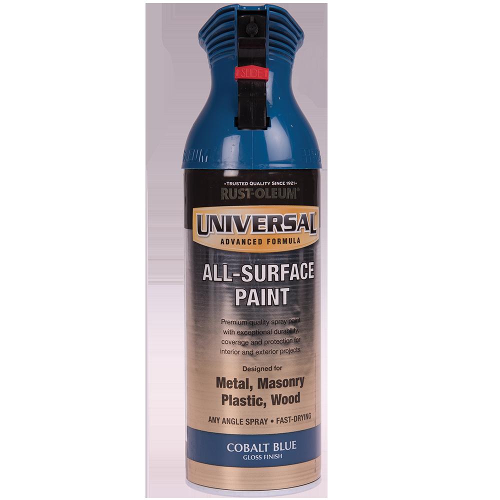 Spray Universal all-surface lucios albastru cobalt 400 ml imagine 2021 mathaus