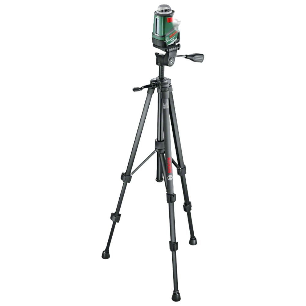 Nivela cu laser si linii Bosch Professional PLL 360 Set, 20 m, autonivelare, stativ, geanta de protectie