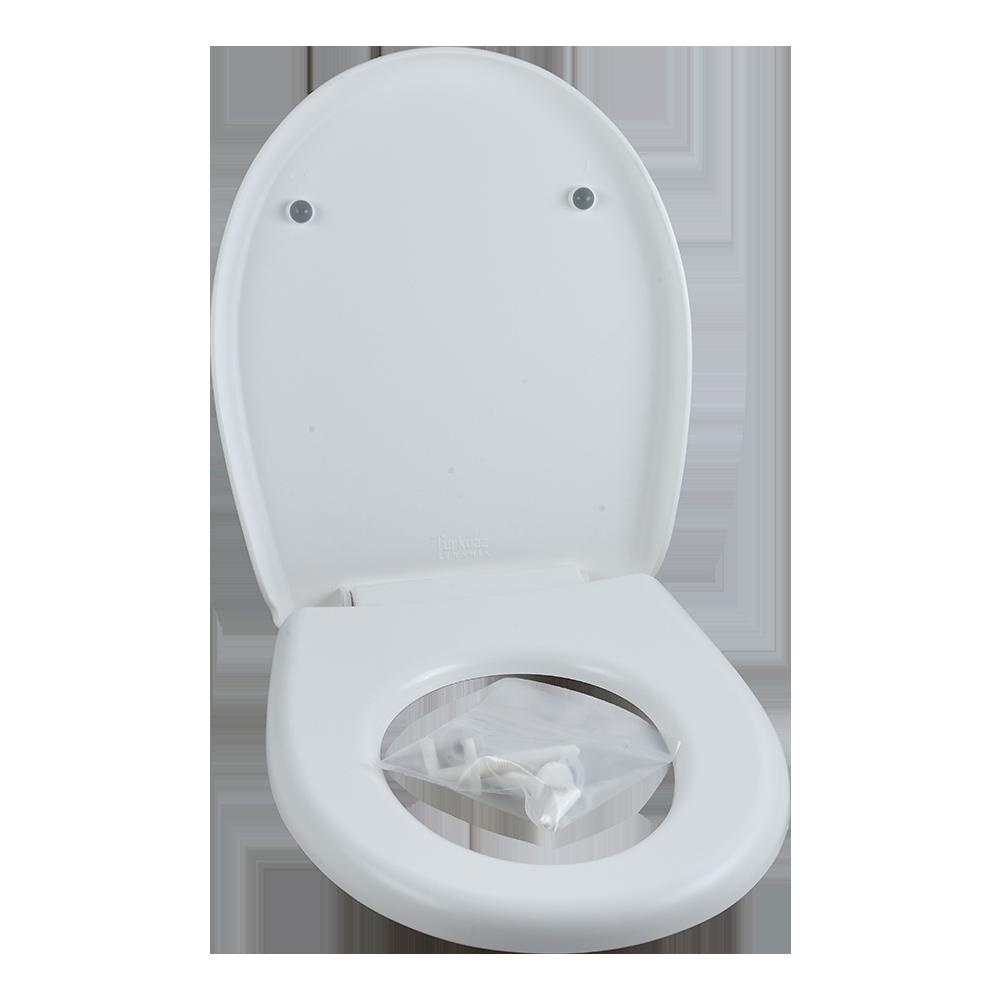 Capac WC copii Menuet, PP, alb, 343 x 285 mm