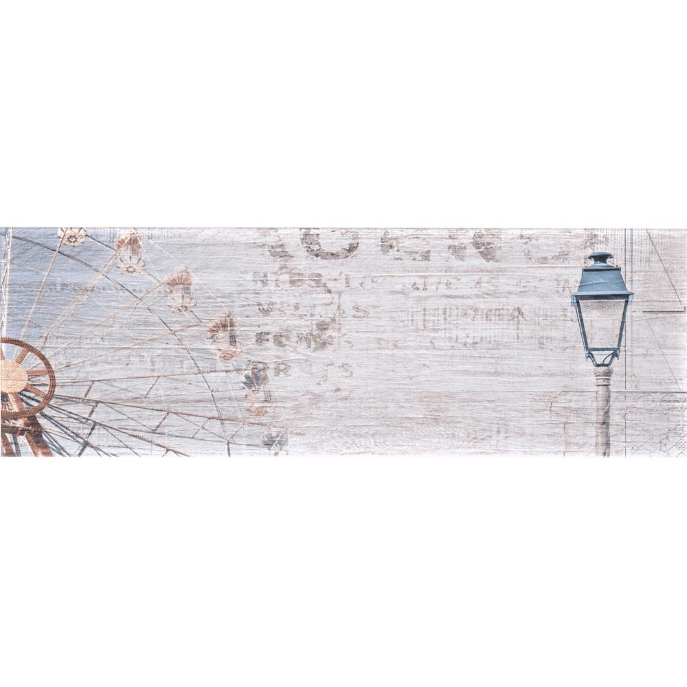 Faianta decor Art Ceramic, Soft Wood D-B309015, bej, finisaj estetic, model vintage, 30 x 90 cm
