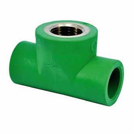 Teu Hausterm, FI, PP-R, verde, 32 mm x 3/4 inch x 32 mm