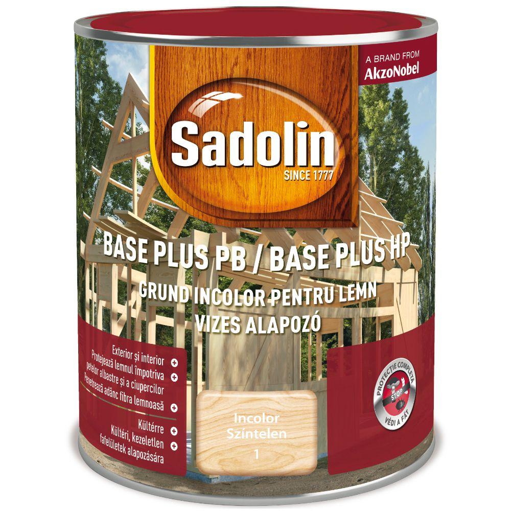 Grund pentru lemn, Sadolin Base Plus PB, incolor, 0,75 l