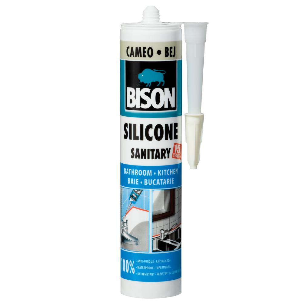Silicon Sanitar Bison bej 280 ml mathaus 2021