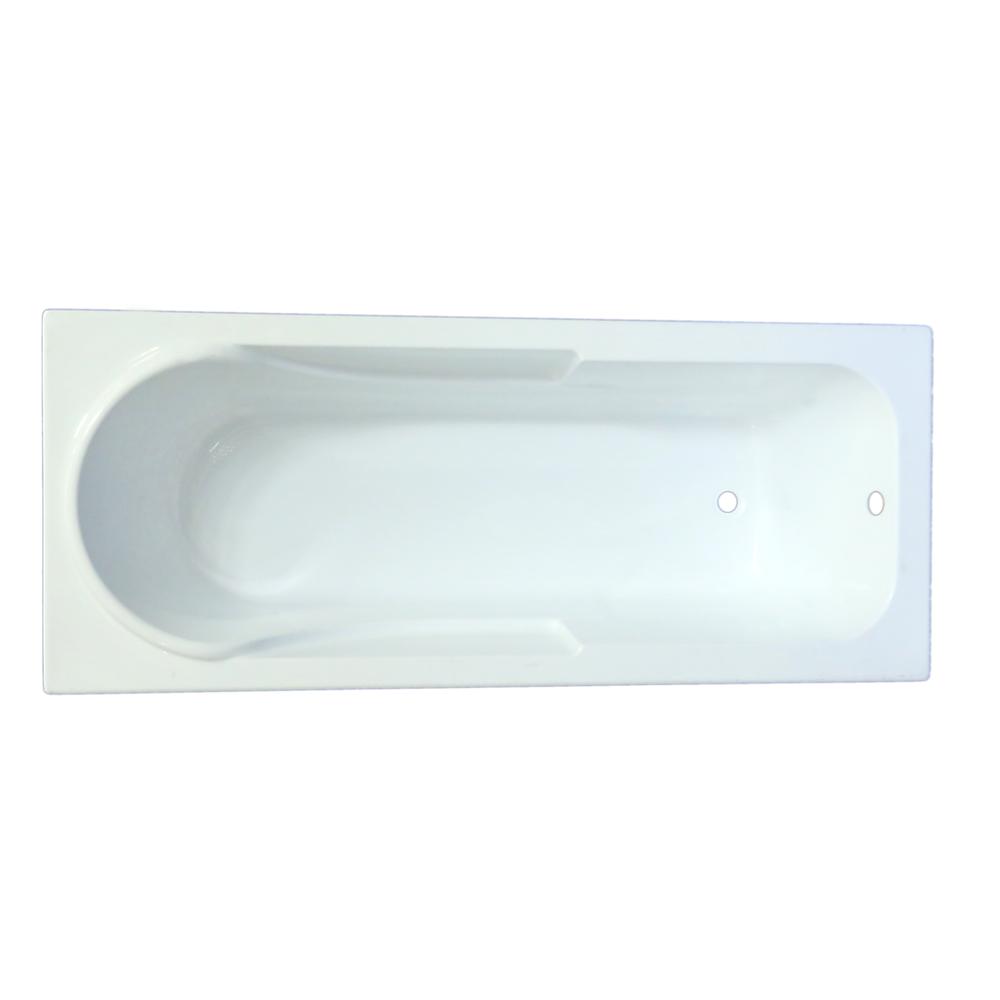 Cada baie Apolo, acril sanitar, alb, 170 x 70 x 39 cm