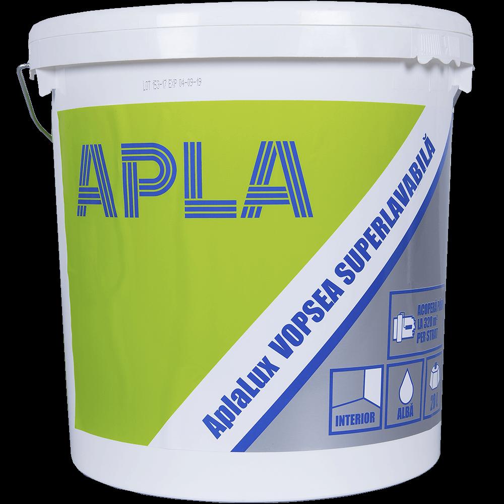 Vopsea lavabila interior Aplalux alba 20 L mathaus 2021