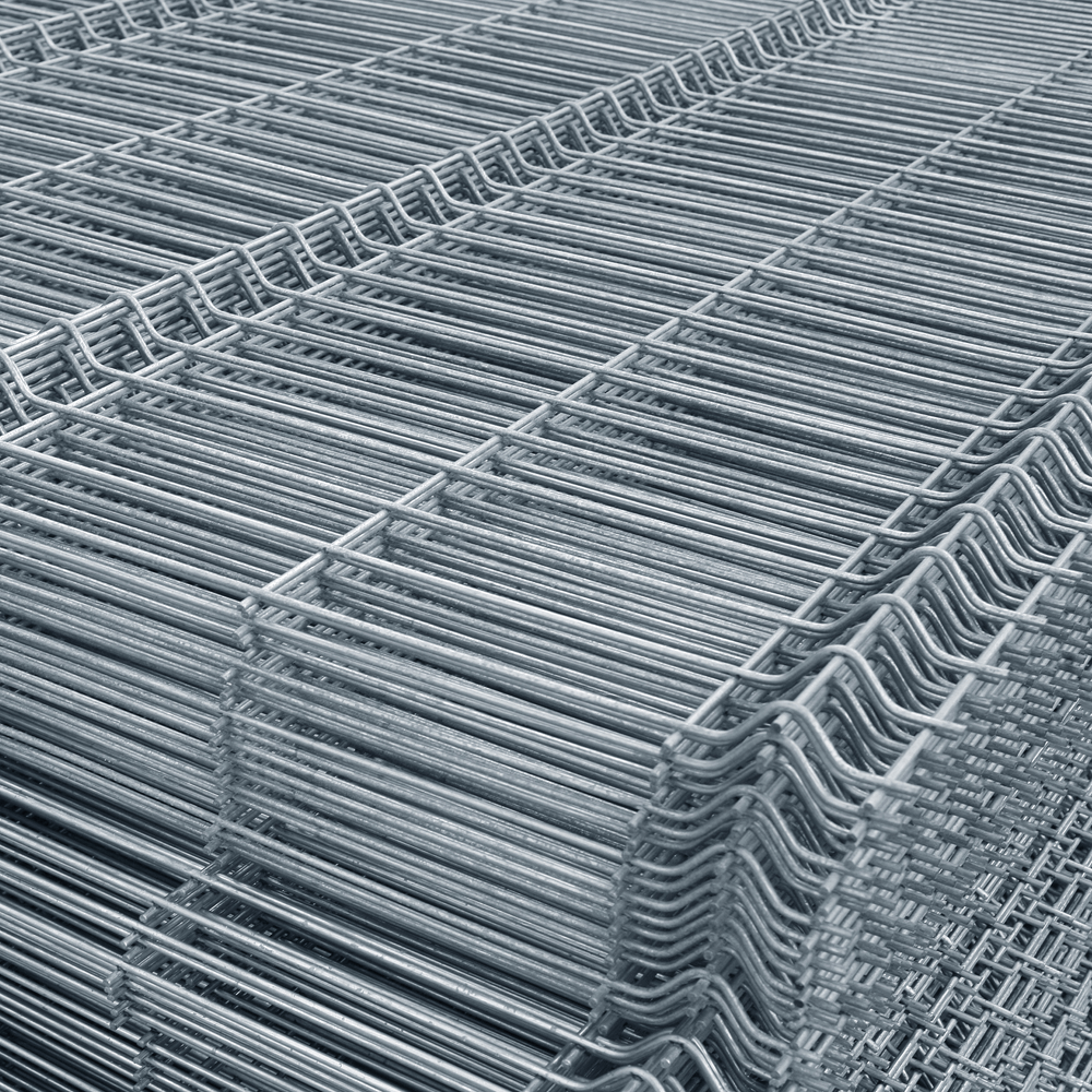 Panou gard bordurat zincat 1500 x 2500 mm imagine MatHaus.ro