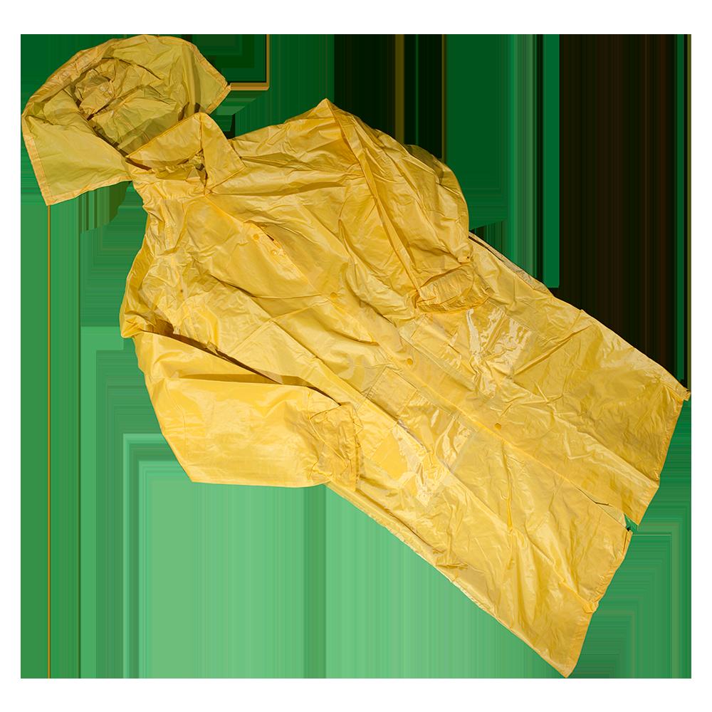 Pelerina impermeabila Duren 3050 Pl-g, PVC, marimea XL, galben