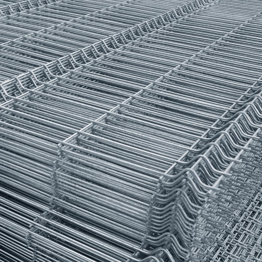 Panou gard bordurat zincat Eco, 1200 x 2500 mm mathaus 2021