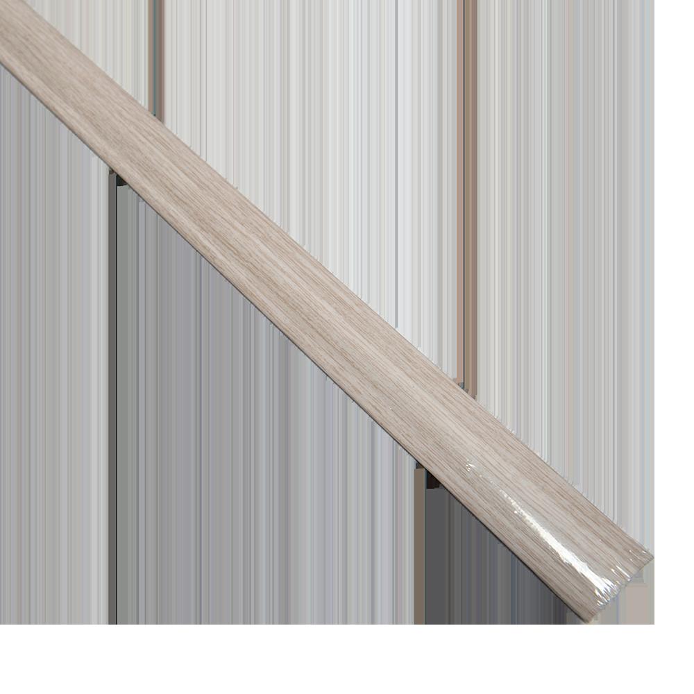 Profil de dilatatie din aluminiu SM1 Decora stejar capuccino, 93 cm imagine 2021 mathaus