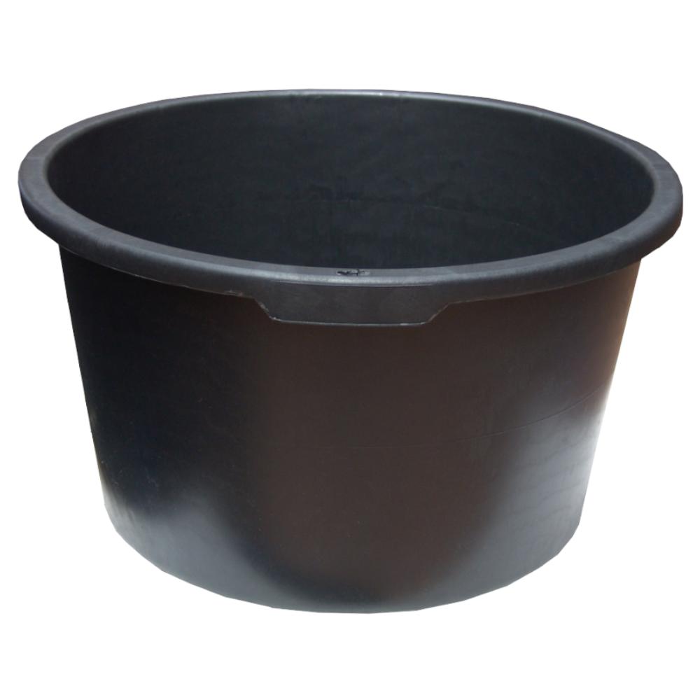 Cuva rotunda pentru mortar Evotools, negru, 90L