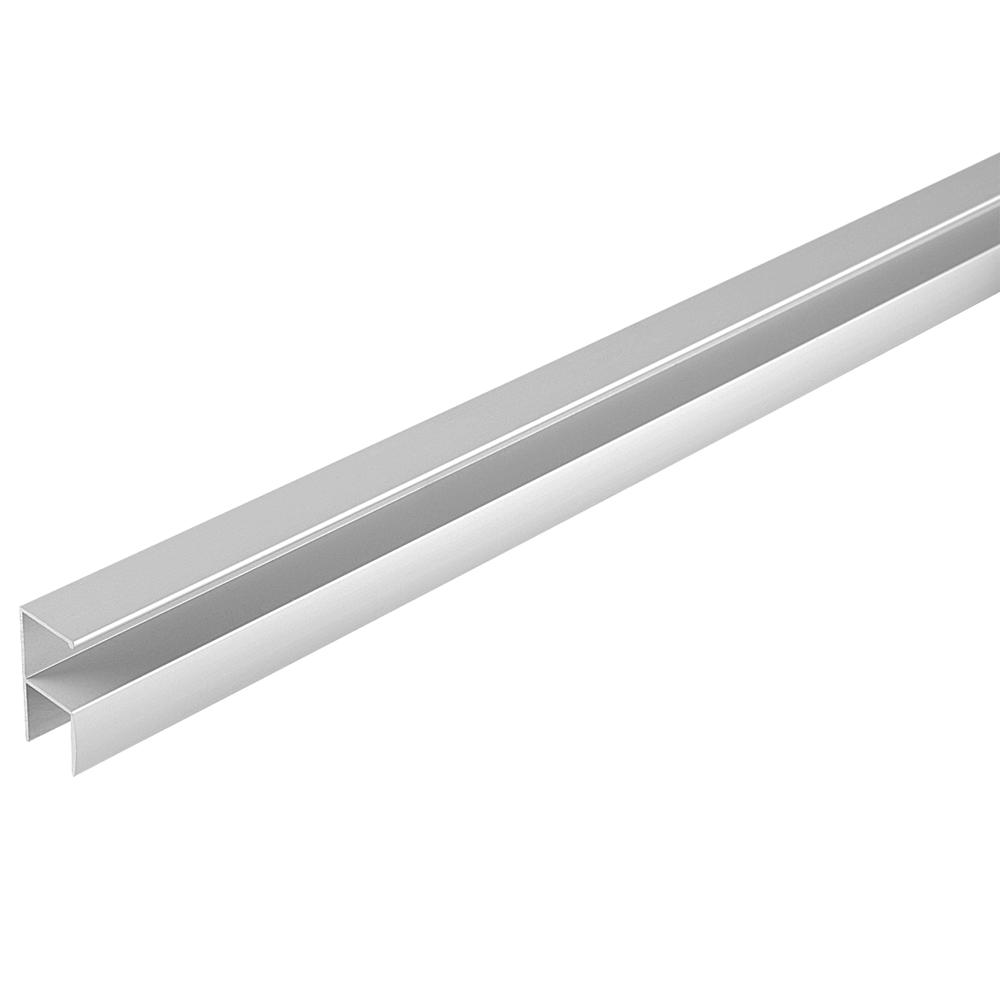 Profil pentru maner ECO, aluminiu, 2,5 m imagine MatHaus.ro