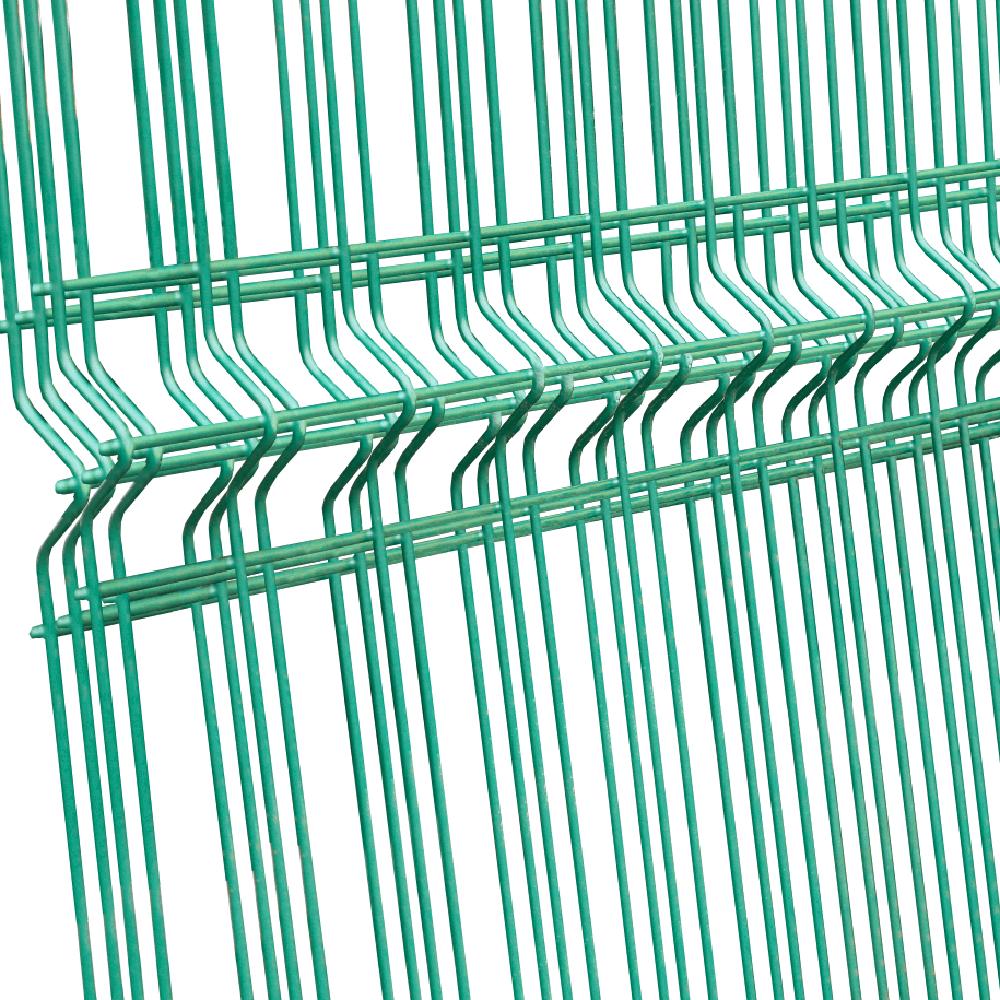 Panou gard plastifiat zincat bordurat verde 4,2x2000x2500mm imagine MatHaus.ro
