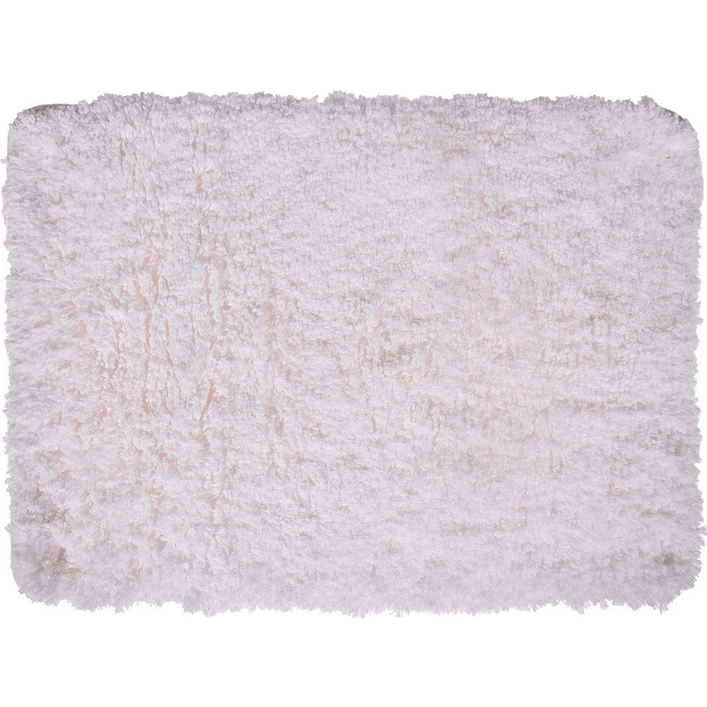Covoras de baie, microfibra 100%, alb, 50 x 70 cm imagine 2021 mathaus