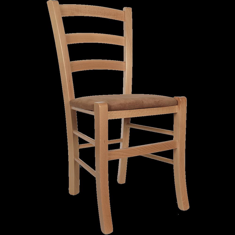 Scaun Paesana din lemn de fag, culoarea fag, sezut stofa bej K8, 88 x43 cm imagine 2021 mathaus
