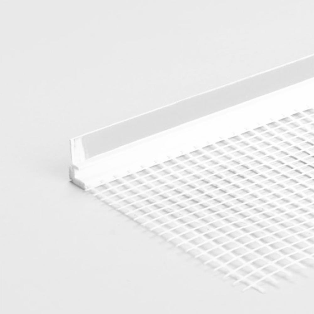 Profil din PVC pentru tamplarie, 2500 mm